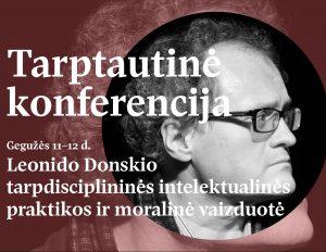 VDU_konferencija_Leonidui_Donskiui_plakatas