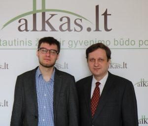 Ričardas Dediala ir Tomas Baranauskas | Alkas.lt nuotr.