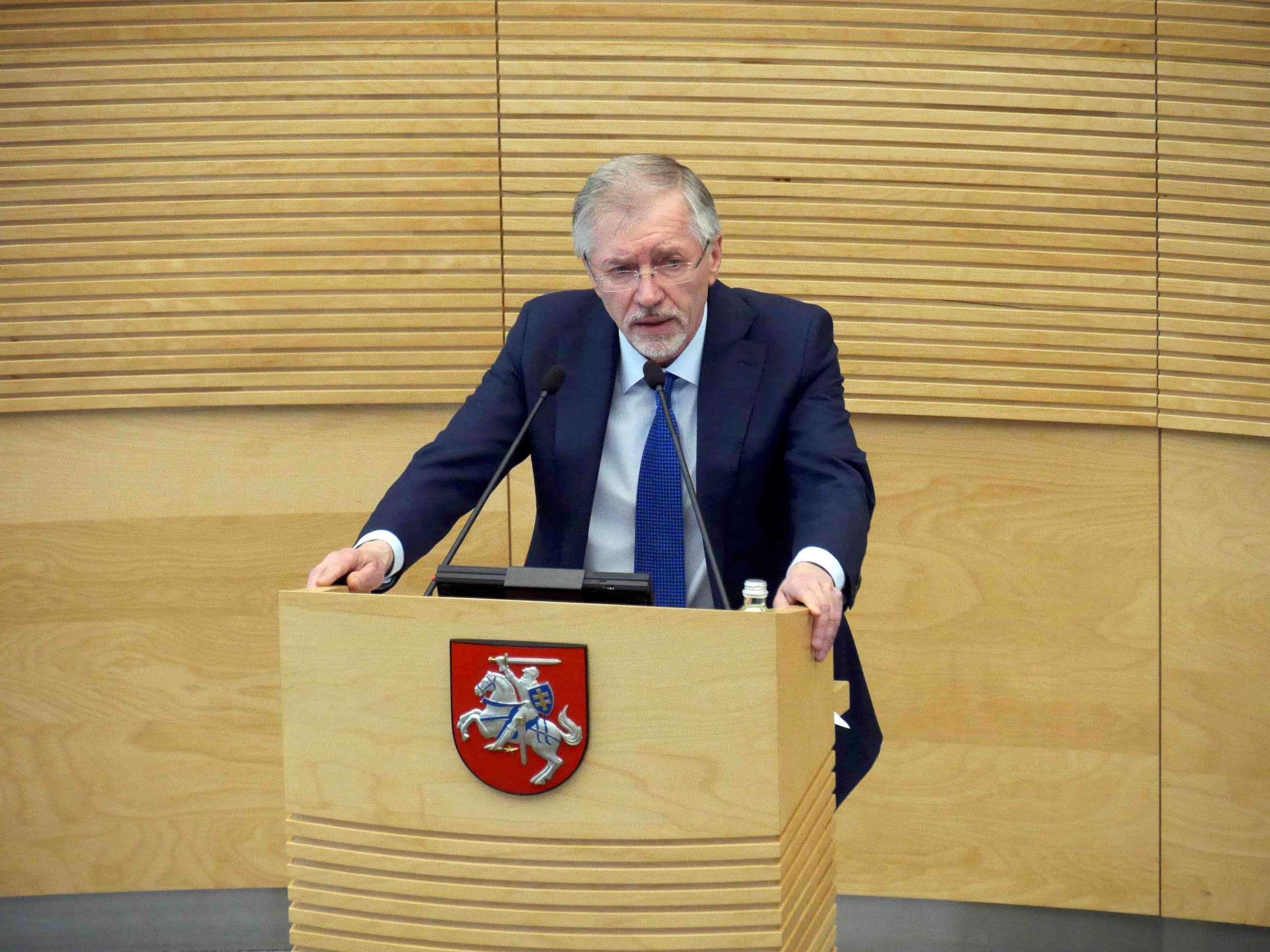 G. Kirkilas nė nemirktelėjęs tiesiog iš Seimo tribūnos melavo... | Alkas.lt, J. Vaiškūno nuotr.