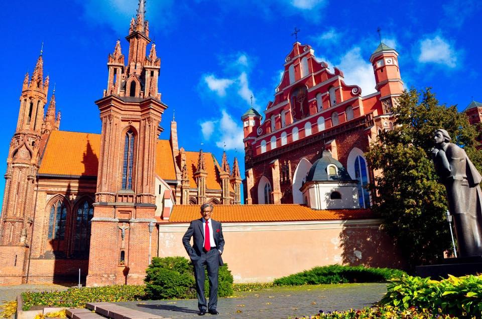 Indijos ambasados garbės konsulas Lietuvoje Radžinderis Kumaras Čaudharis   Asmeninė nuotr. 2