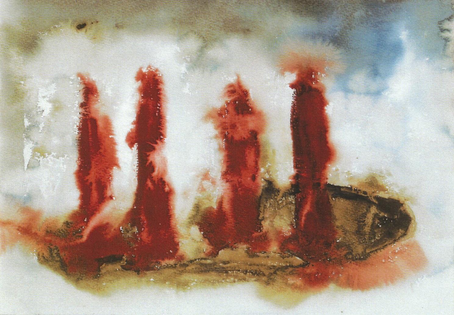 Kraujas iš žemės pėdos | D. Vaskelaitės pieš.