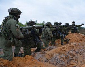 Lietuvos kariai Saber Strike 2017 pratybose Latvijoje_kam.lt