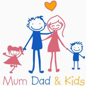 Mum dad and kids_mama tetis ir vaikai