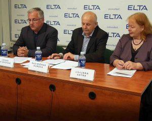 Jonas Vaiškūnas, dr. Kazimieras Garšva, dr. Lilijana Atra | Alkas.lt nuotr.