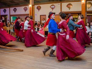 Džiuzepės Garibaldžio gaučų tradicijų centro folkloro grupė iš Brazilijos | Rengėjų nuotr.
