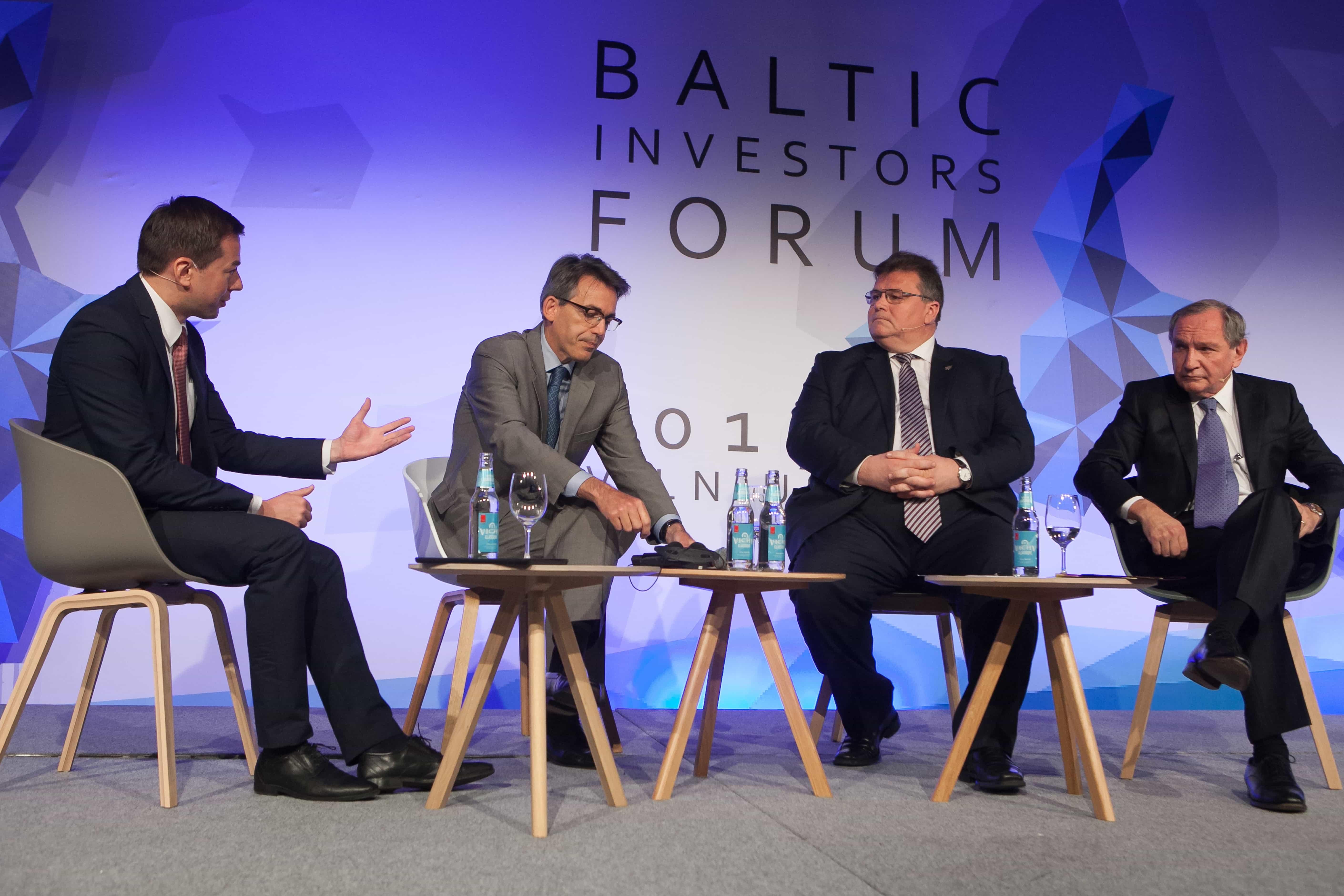Baltijos regiono šalių investuotojų forumas | Rengėjų nuotr.