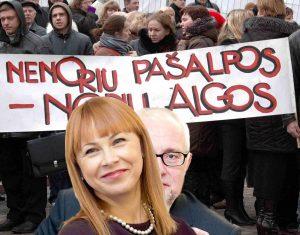 Švietimo ir mokslo ministrė Jurgita Petrauskienė | Alkas.lt koliažas