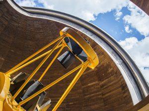 VU TFAI Molėtų opservatorijos 165-cm_teleskopas | Rengėjų nuotr.