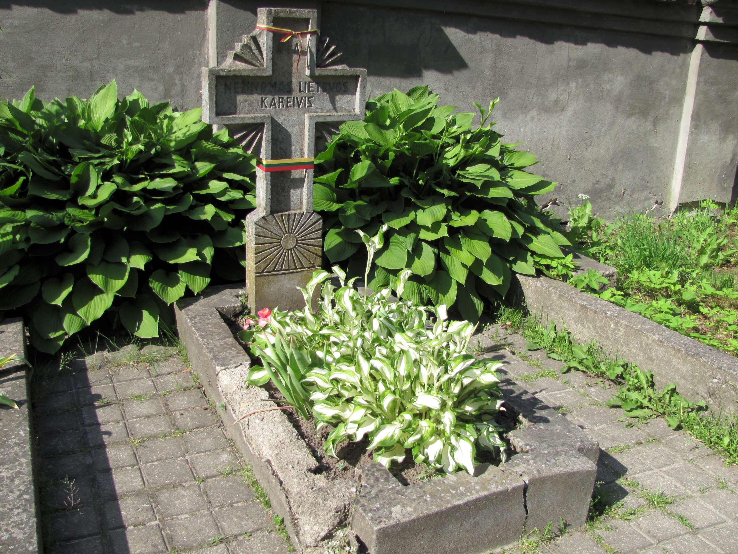 7. Nežinomo kario kapas Rasų kapinėse | B. Puzinavičiaus nuotr.
