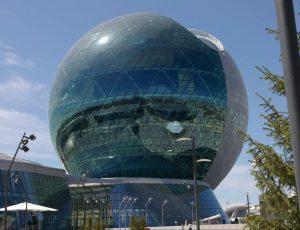 Astana, Centrinis paviljonas | Alkas.lt, G. Statinio nuotr.