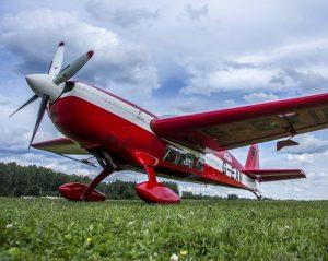 Akrobatinis lėktuvas | Alkas.lt, A. Sartanavičiaus nuotr.