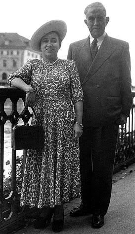 Liubov Derčanski Hamid su vyru Hadža Abdulu Hamidu | Asameninė nuotr.