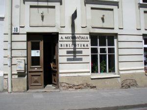 Vilniaus apskrities A. Mickevičiaus viešoji biblioteka | Wikipedia.org nuotr.