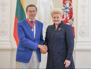 Prezidentė už nuopelnus Lietuvai apdovanojo Lietuvos ir užsienio šalių piliečius | lrp.lt nuotr.