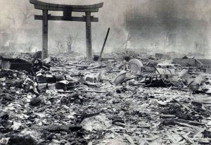 Hirosima po atominio smūgio | Dailymail.co.uk nuotr.