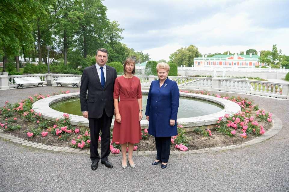 Baltijos šalių prezidentai | lrp.lt, RF. Dačkaus nuotr.