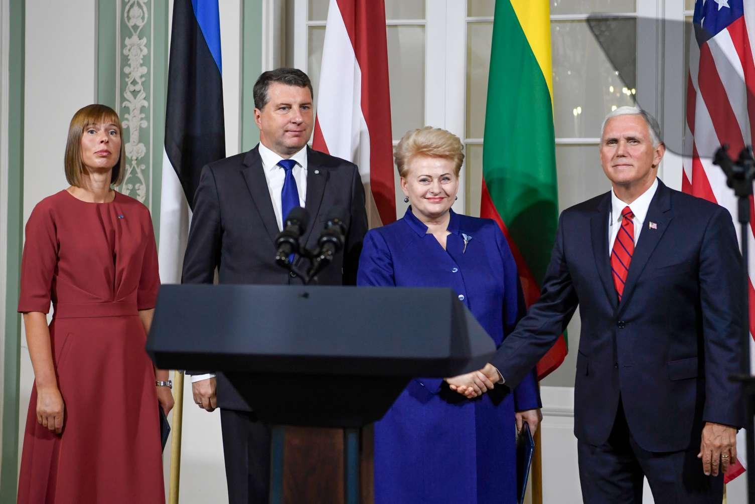 JAV išreiškė palaikymą Baltijos šalims | lrp.lt, R. Dačkaus nuotr.