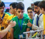 """Lietuviai gerai pasirodė pasaulinėse robotikos žaidynėse JAV   """"Robotikos mokyklos"""" nuotr."""