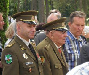 Partizanų parke pagerbti laisvės kovotojai | Kauno sąjūdžio nuotr.