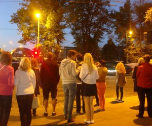 Jaunimas renkasi į Lygiadienio šventę. 2015 | D. Rastenienės nuotr.