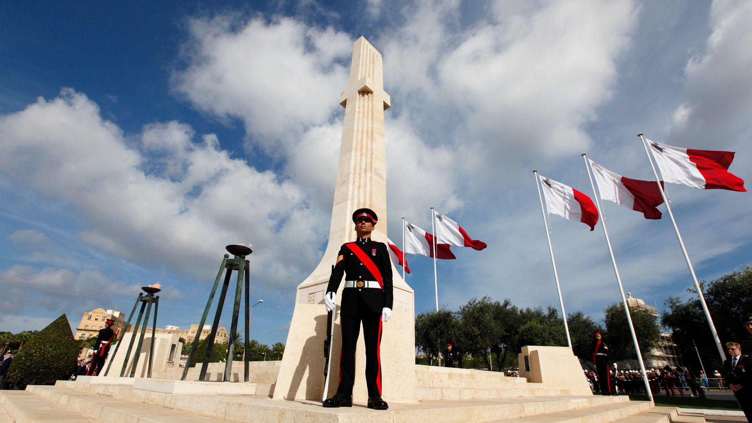 9. Pirmojo ir Antojo pasaulinių karo aukų memorialas Florianoje, netoli Valetos. Malta | Wikipedia.org nuotr.