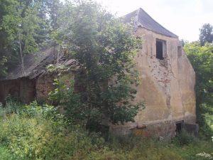 Dar nenugriautas Garuozos dvaro pastatas | Alkas.lt, T. Baranausko nuotr.