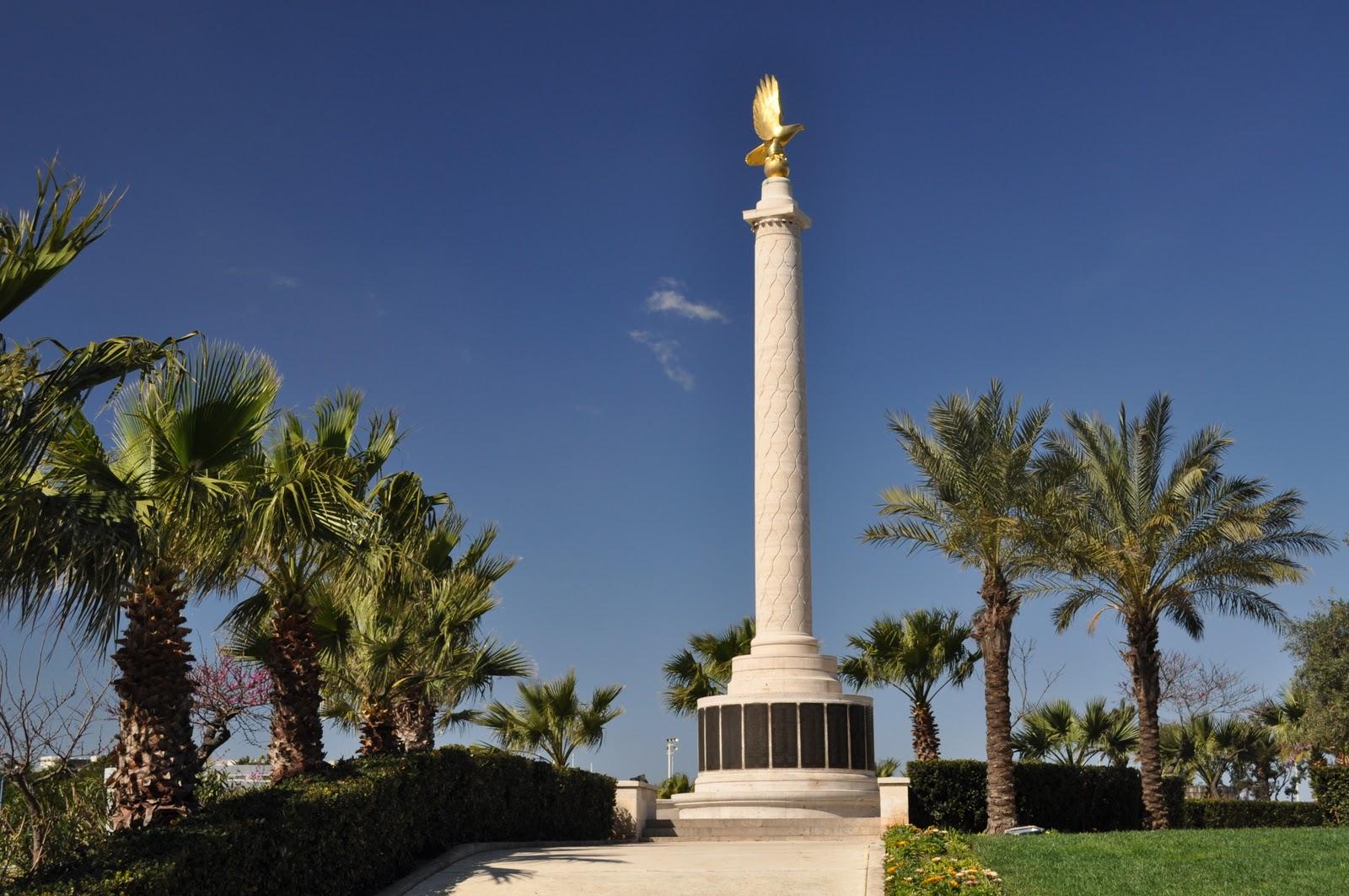 11. Antrojo pasaulinio karo aukų (oro pajėgų karių) memorialas Maltos sostinėje Valetoje | Wikipedia.org nuotr.