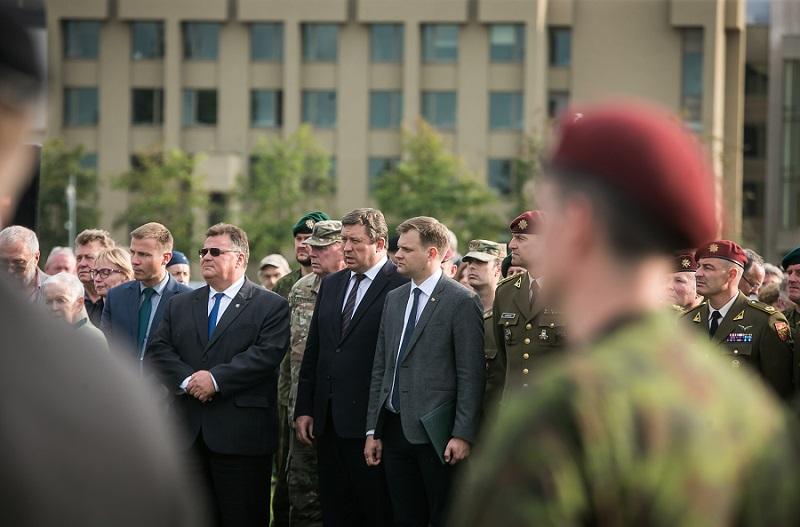 Seime paminėtos seimo nario Artūro Sakalausko žūties metinės | Seimo kanceliarijos (aut. O. Posaškova) nuotr.