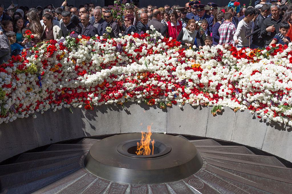 3. Amžinoji ugnis Armėnų genocido aukų memoriale | Wikipedia.org nuotr.