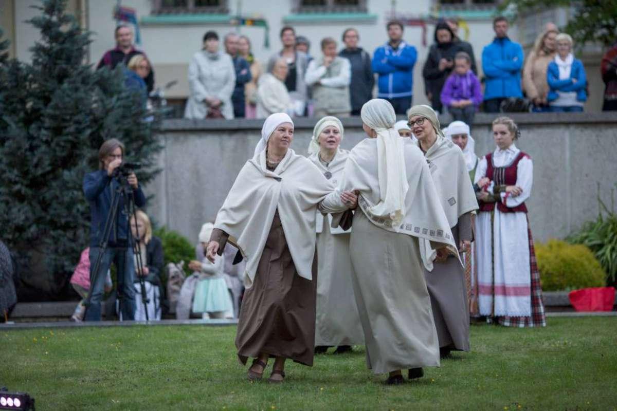 """""""Trys keturiose"""" Tarptautiniame festivalyje """"Lauksnos"""". 2017, Klaipėda   Asmeninė nuotr."""