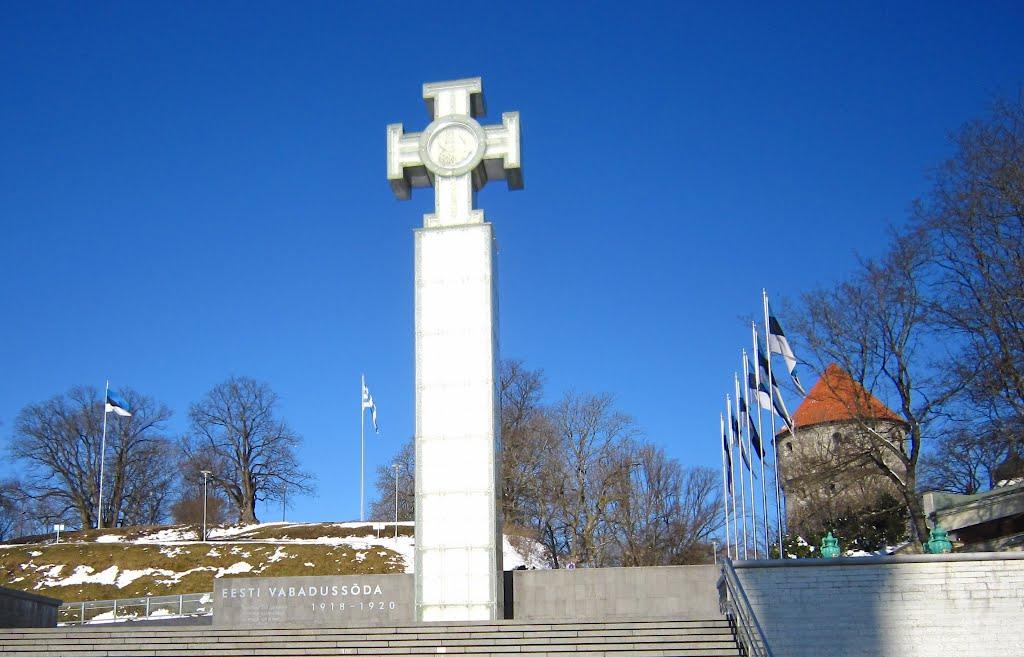 6. Estijos Nepriklausomybės kovų monumentas Taline. 2009 m. | Wikipedia.org