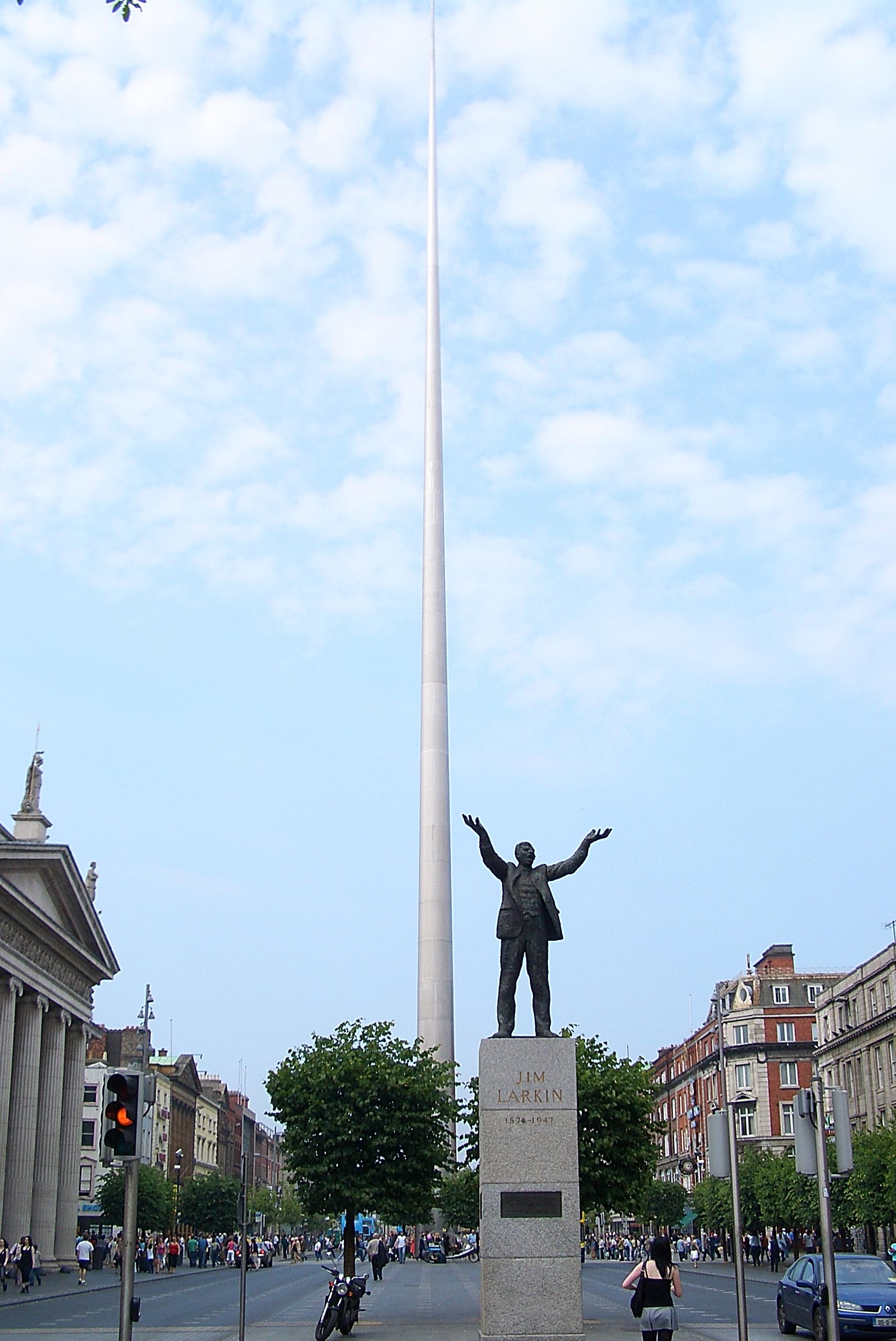 7. Dublino smailė (Šviesos bokštas) | Wikipedia.org nuotr.