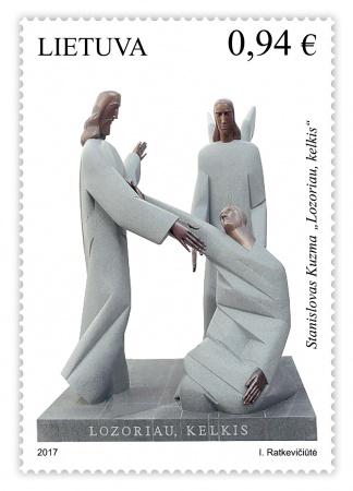 Pašto ženklu pagerbiama skulptoriaus S. Kuzmos kūryba ir gydytojų atsidavimas | Lietuvos pašto nuotr.