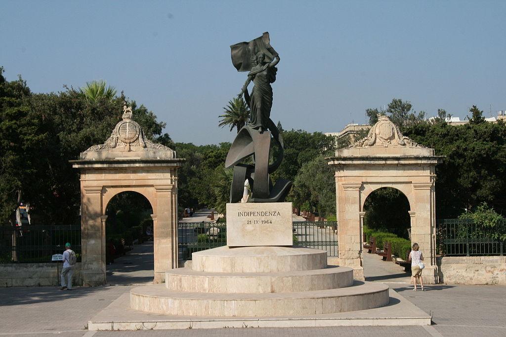 8. Maltos nepriklausomybės monumentas, pastatytas 1989 m. minint nepriklausomybės 25-metį | Wikipedia.org nuotr.