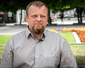 A. Stulginskio universiteto Miškų ir ekologijos fakulteto lektorius Julius Bačkaitis | Kaunas.lt nuotr.