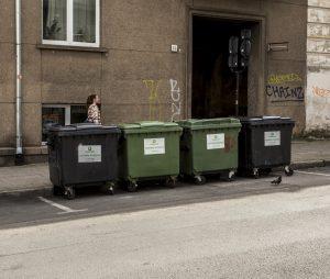 Šiukšlių konteineriai | Alkas.lt, A. Sartanavičiaus nuotr.