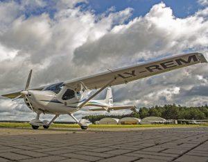 Ultralengvasis lėktuvas   Alkas.lt, A. Sartanavičiaus nuotr.