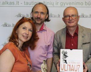 Audrys Antanaitis,Juventa Mudėnienė, Paulius Mudėnas | Alkas.lt, A. Sartanavičiaus nuotr.