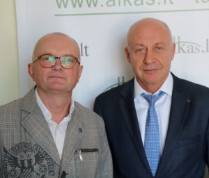 Audrys Antanaitis, Prof. Dr. Renaldas Gudauskas | Alkas.lt, A. Sartanaviciaus nuotr.