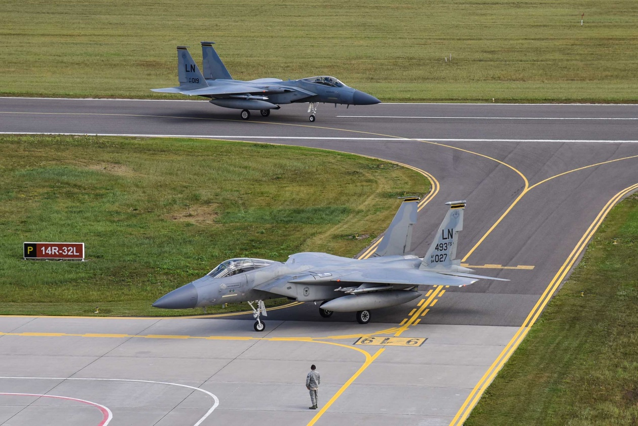 JAV stiprina oro policijos pajėgas Baltijos šalyse | KOP AB nuotr.