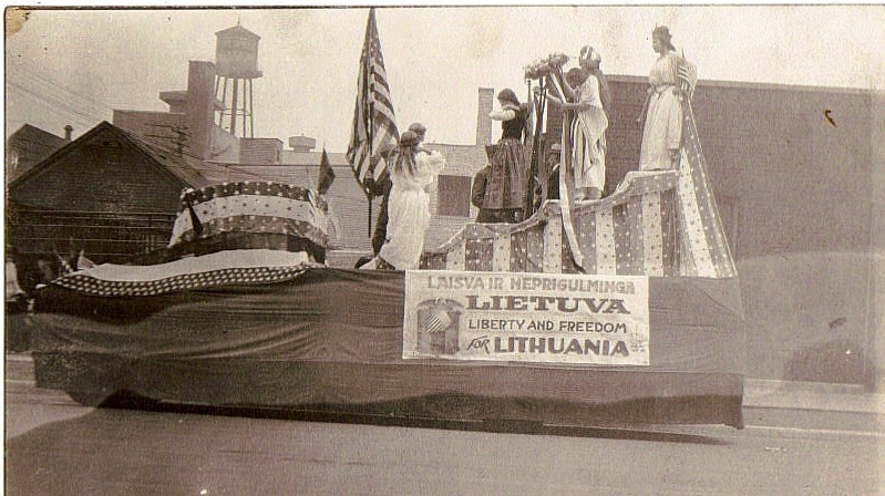 Lithuanian American Independence protest   Rengėjų nuotr.
