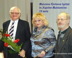 A. Matulevičius, MLRT atssakingoji sekretorė B. Kurgonienė, MLRT pirmininkas V. Šilas | J. Česnavičiaus nuotr.