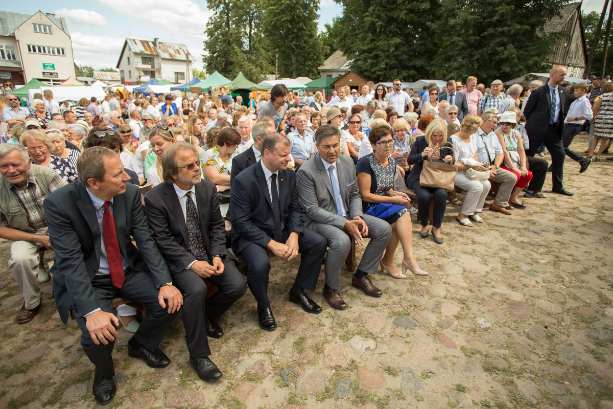 Ministras pirmininkas lankėsi Punske per Žolines | lrv.lt nuotr.