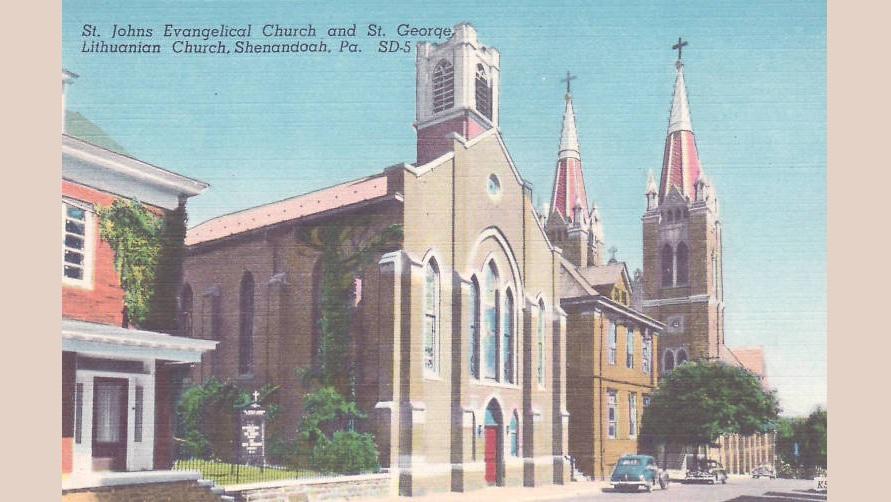 Shenandoah St. George Lithuanian church | Rengėjų nuotr.