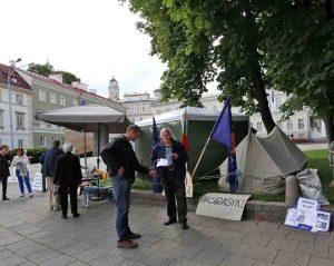 Bado akcija prie Prezidentūros Vilniuje | Alask.lt, A. Sartanavičiaus nuotr.