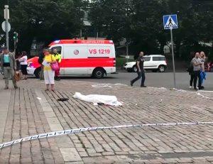 Žudynės Turku mieste Suomijoje | Youtube.com stop kadras