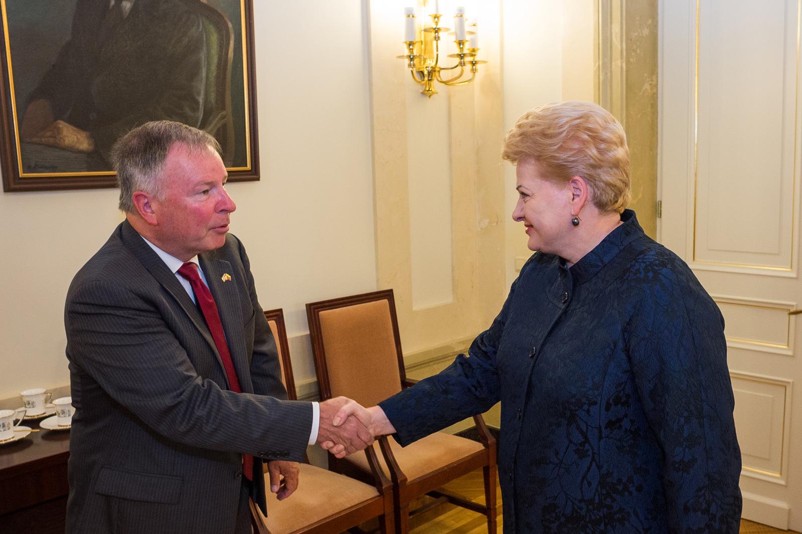 Prezidentė susitinka su Jungtinių Amerikos Valstijų Kongreso delegacijos nariais | lrp.lt nuotr.