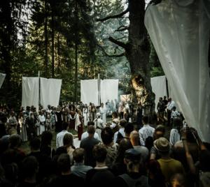 Šventės atidarymo apeigos | Kazimiero Šešelgio nuotr.