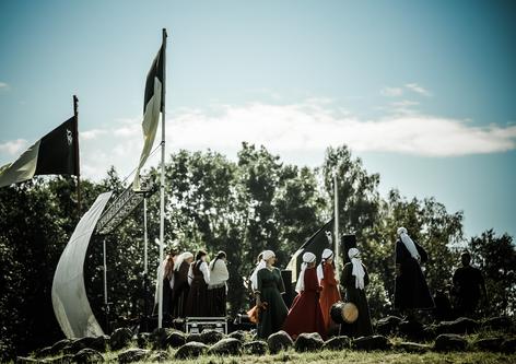 Folkloro scena | Kazimiero Šešelgio nuotr.