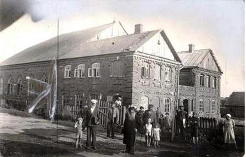 Šėtos žydų maldos namai iš PV, 1937 m. | Yaakov David Kamzon nuotr.